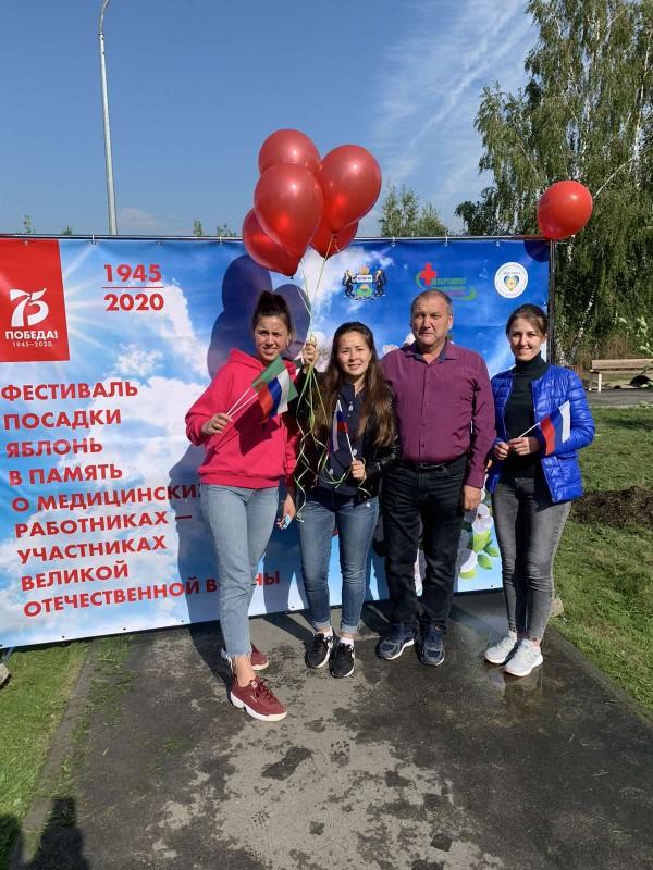 Поликлиника им. Е.М. Нигинского присоединилась к международной акции «Сад памяти»