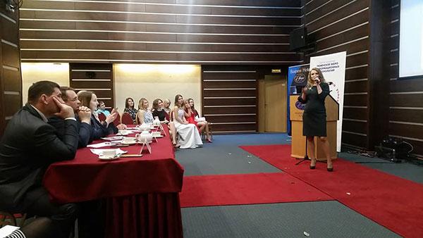 Выступление Натальи Оробец